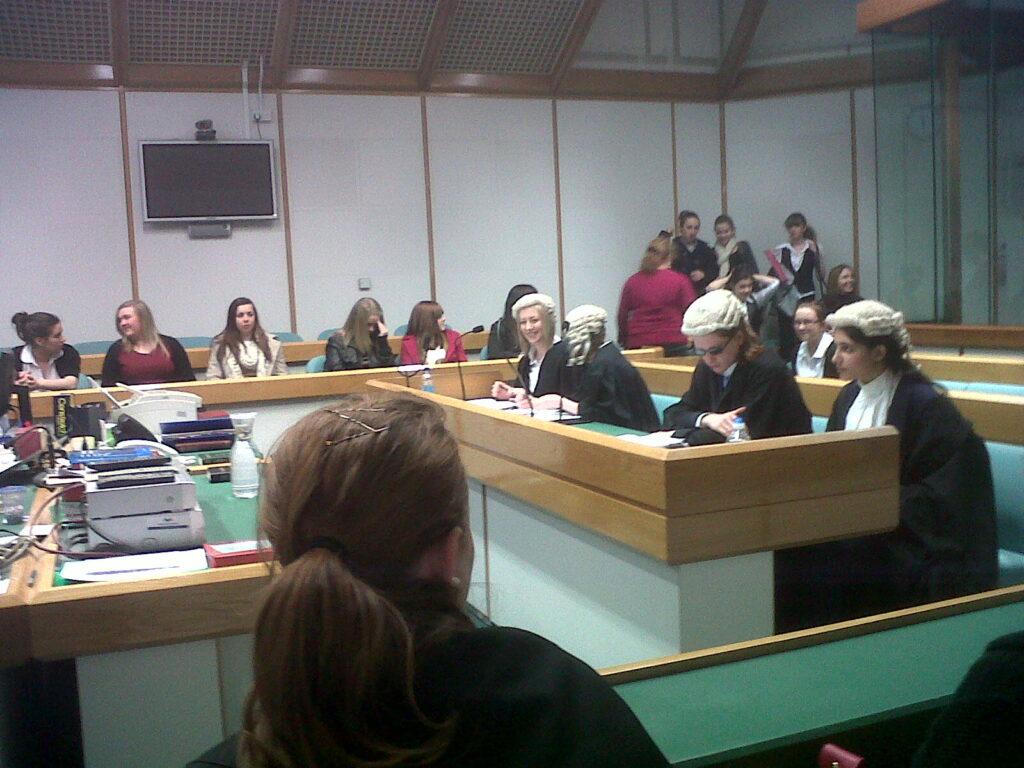 Image of Hannah Whitehouse at Swansea Regional Mock Trial