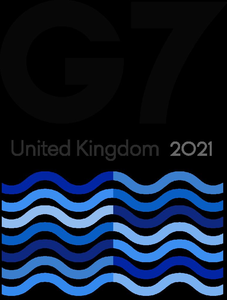 G7 UK 2021 logo